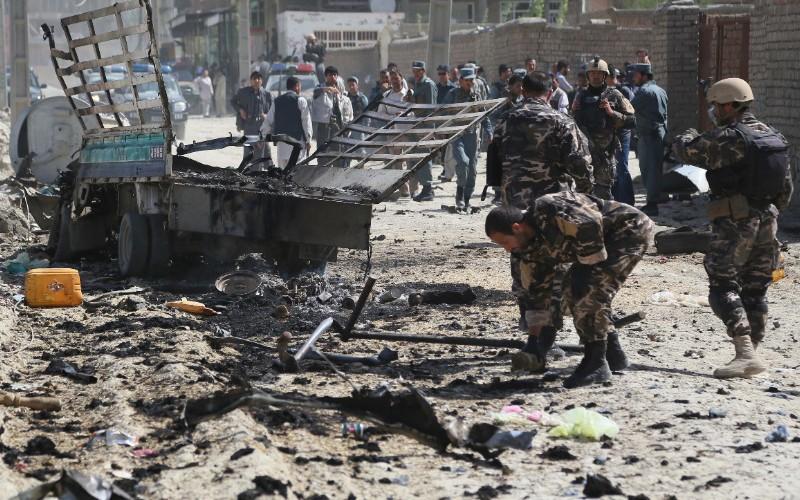 Талибан через Twitter взял на себя ответственность за взрыв в Кабуле