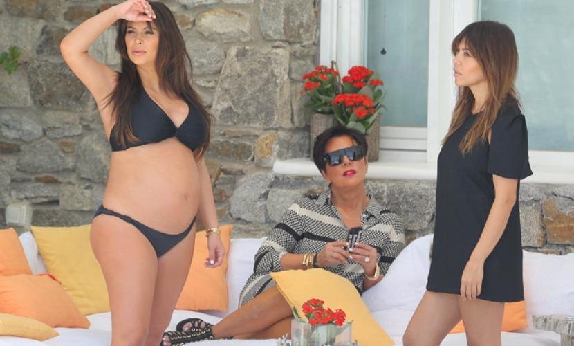 Беременная Ким Кардашьян обвинила вышедшего из комы зятя в