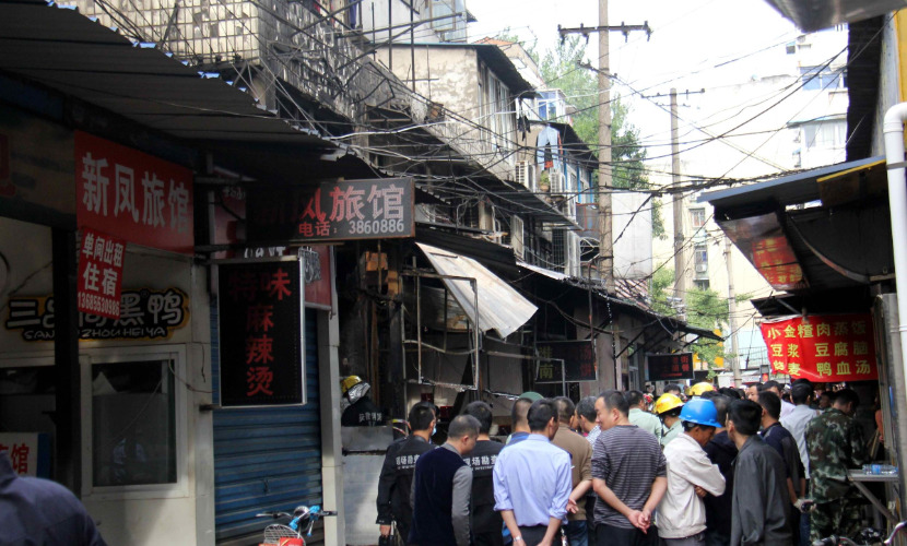 В Китае в результате взрыва газового баллона в ресторане погибли 17 человек