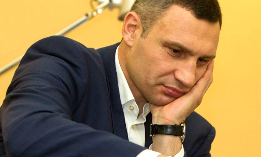 Украинская девочка заставила Виталия Кличко сдаться