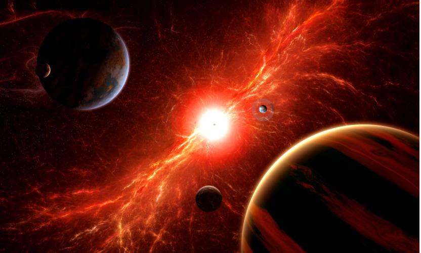 Из-за взрыва в космосе 15 ноября Земля погрузится в темноту, - NASA