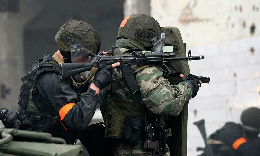 Группу боевиков расстреляли в лесу в Ингушетии