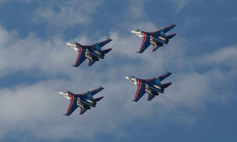 В небе Сирии заметно возросло число летательных аппаратов, - Минобороны РФ
