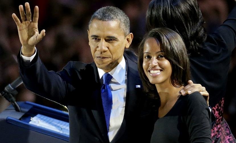 Юную красавицу-дочь Барака Обамы обнаружили на пивной вечеринке