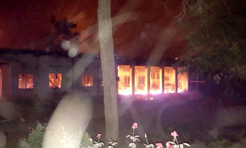 США целенаправленно обстреляли госпиталь в Афганистане, -