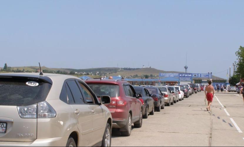 Паромная переправа в Керченском проливе начала работать по фактической погоде