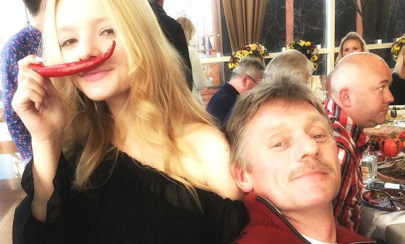 17-летняя дочь Пескова объявила о своей помолвке