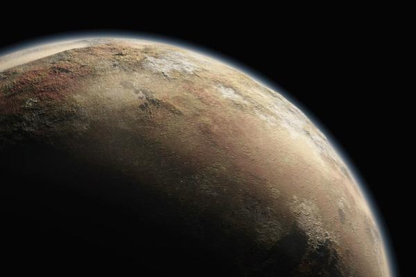 На Плутоне обнаружено голубое небо