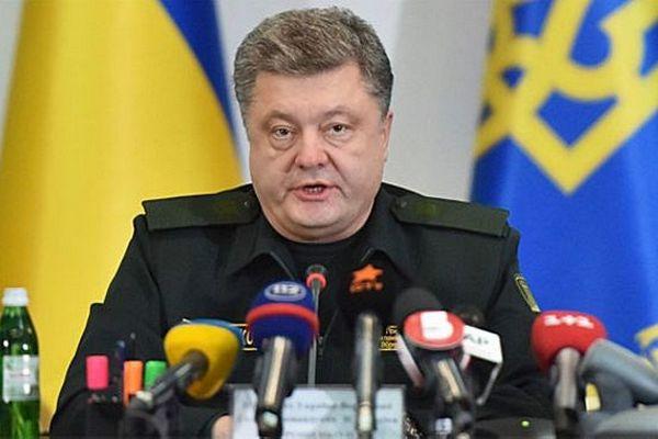 Порошенко пообещал, что Донбасс восстановят иностранцы