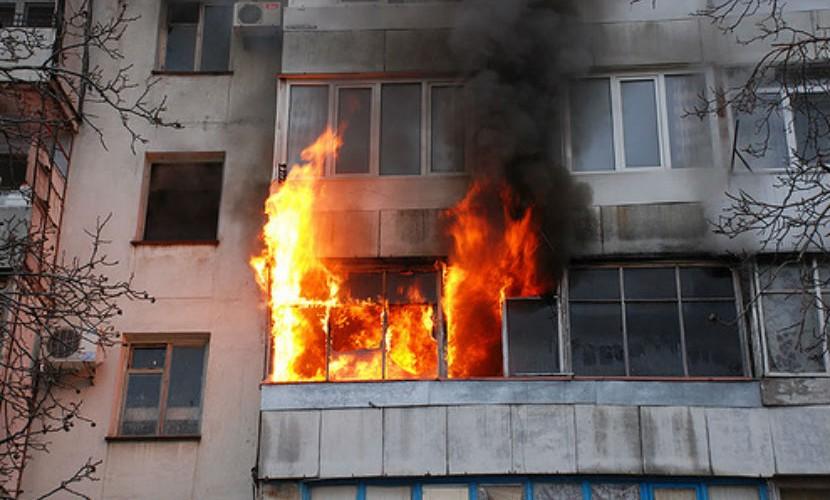 Вследствие пожара в Кривом Роге умерло два человека