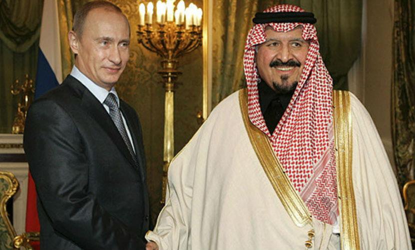 Владимир Путин обсудил с королем Саудовской Аравии сирийский кризис