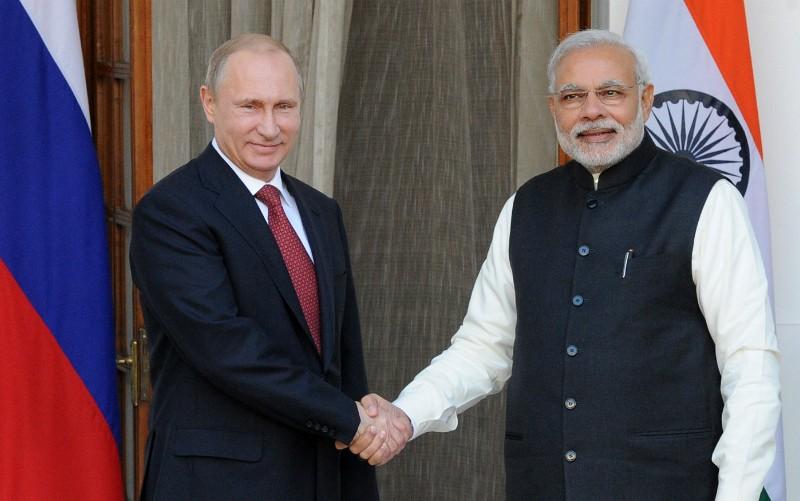 В день рождения Путина за него помолился премьер-министр Индии