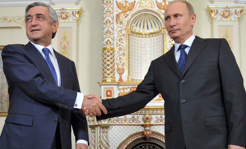 Путина поздравили с днем рождения коллеги с Кавказа