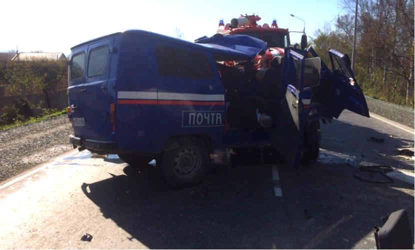 Два сотрудника «Почты России» погибли и один травмирован в жутком ДТП с бетономешалкой