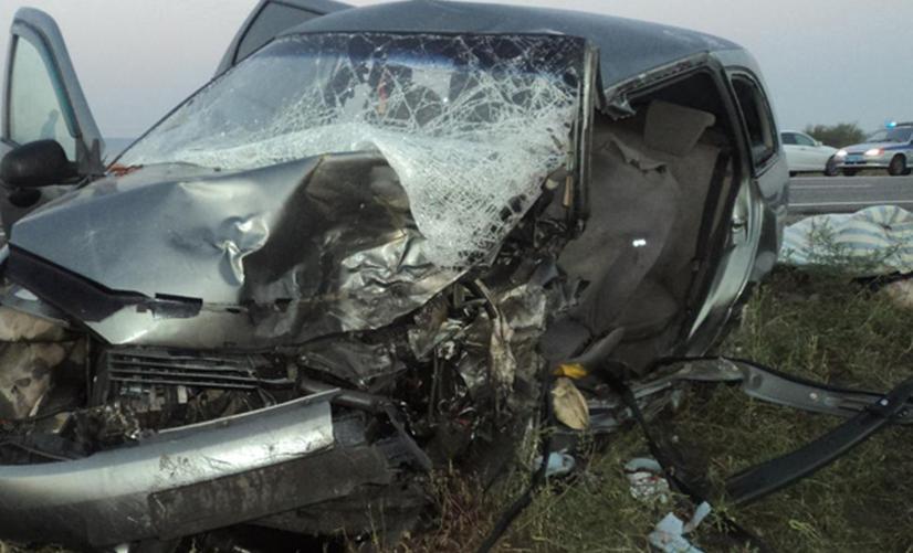 Три пассажира и два водителя погибли в автокатастрофе на Ставрополье