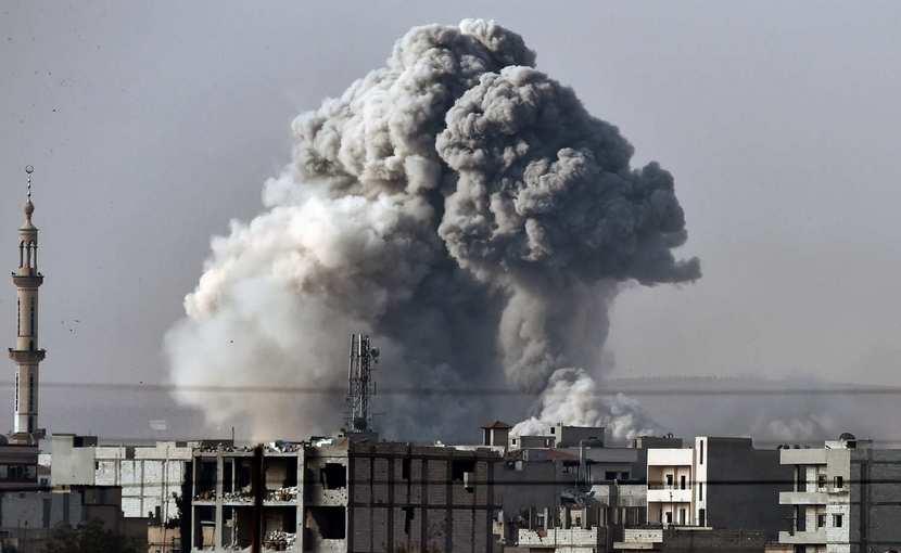 Турецкие ВВС разбомбили курдов в Турции и Ираке