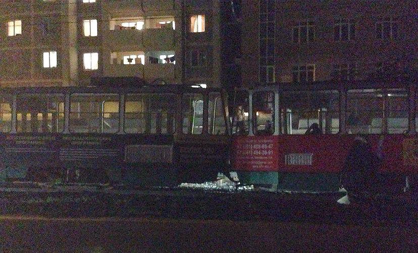 В Ставрополье столкнулись два трамвая, есть пострадавшие