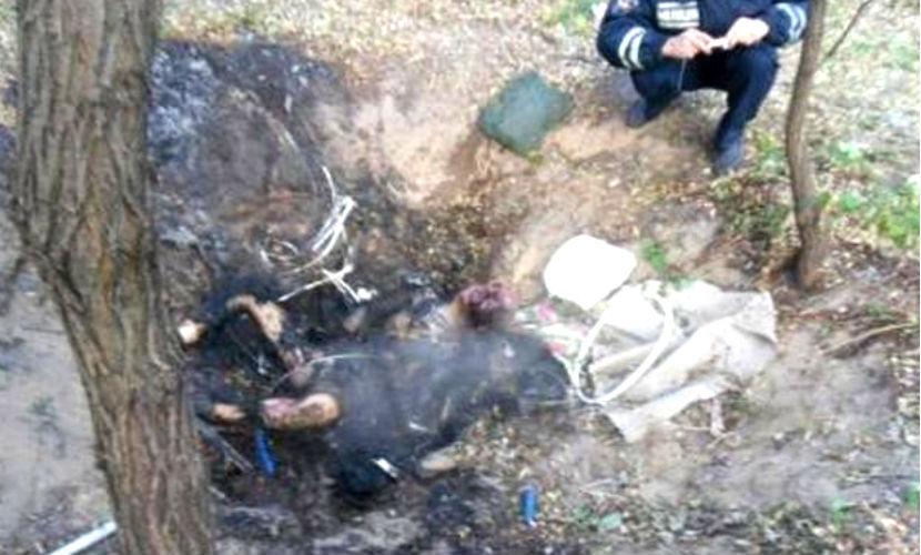 Студент избил до крови и заживо сжег пенсионера в Днепродзержинске