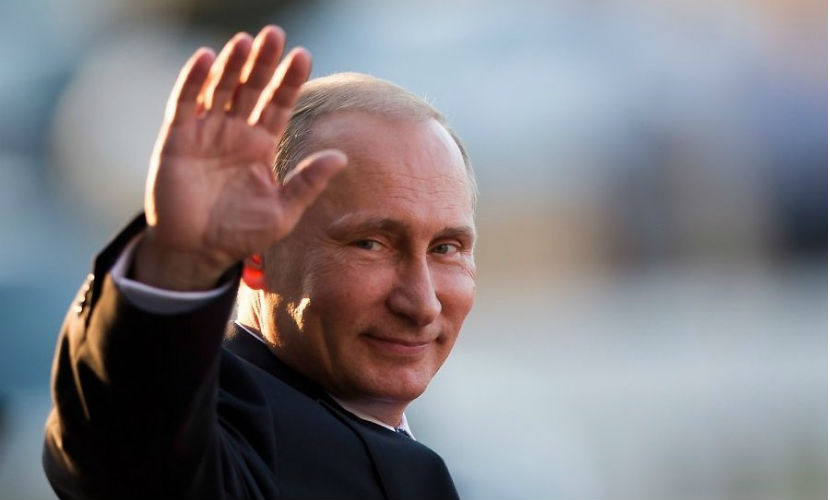 Топ-5 редких фотографий Владимира Путина