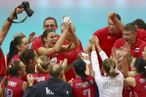 Российские волейболистки вновь взяли золото чемпионата Европы