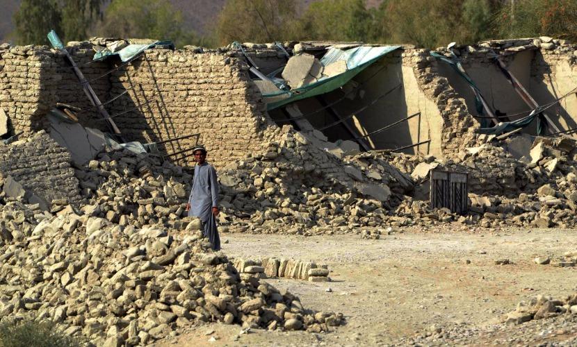 Счет погибших в результате землетрясения в Афганистане пошел на десятки