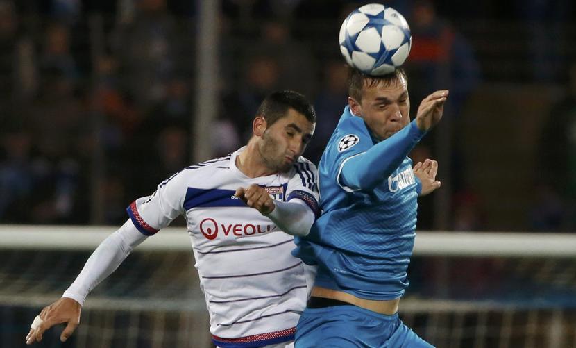 «Зенит» в битве с «Лионом» установил свой рекорд в Лиге чемпионов