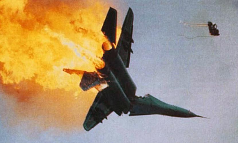 полное видео сбитого летчика