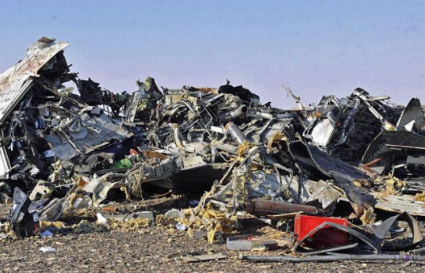 Обгоревшая кабина Airbus A321 отлетела на 5 км от хвостовой части