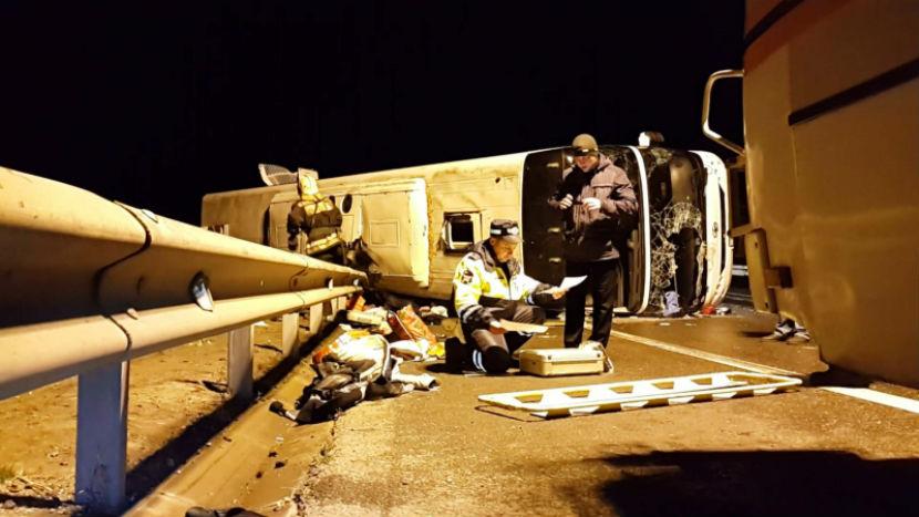 Количество жертв ДТП с автобусом из Армении выросло до восьми