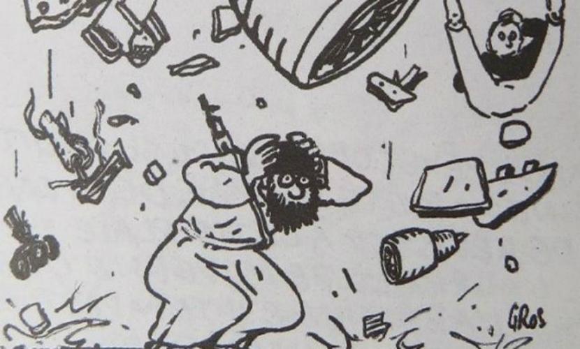 Charlie Hebdo поглумился над трагедией с крушением российского А321 в Египте
