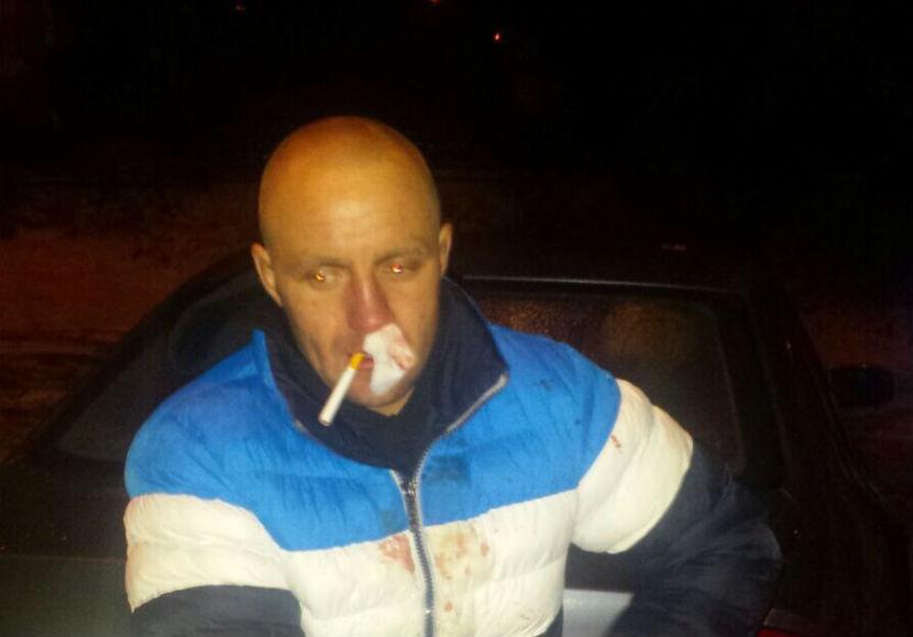Пьяный автослесарь задержан на угнанном авто после погони по Москве