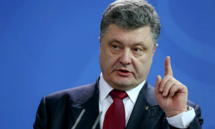 Порошенко в Париже попросил мировых лидеров продлить санкции против России