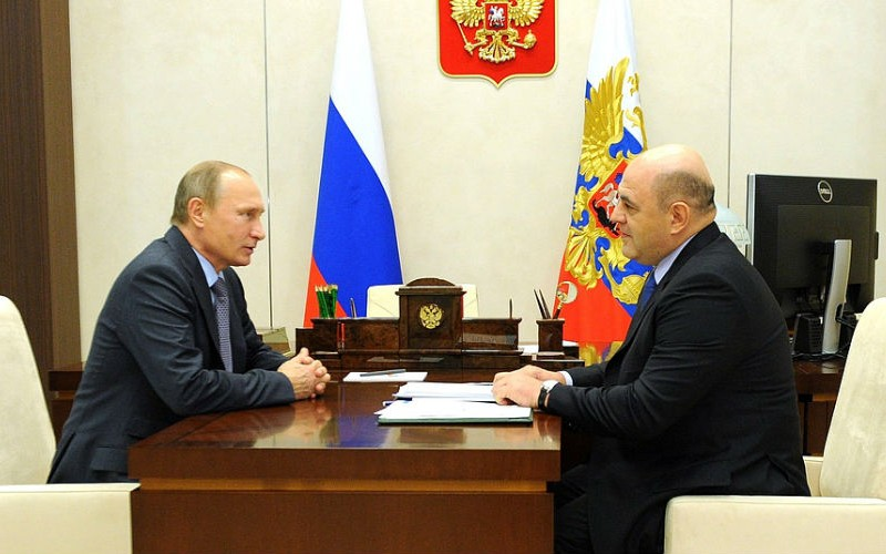 Путин предложил главному налоговику России стать премьером - Блокнот Россия