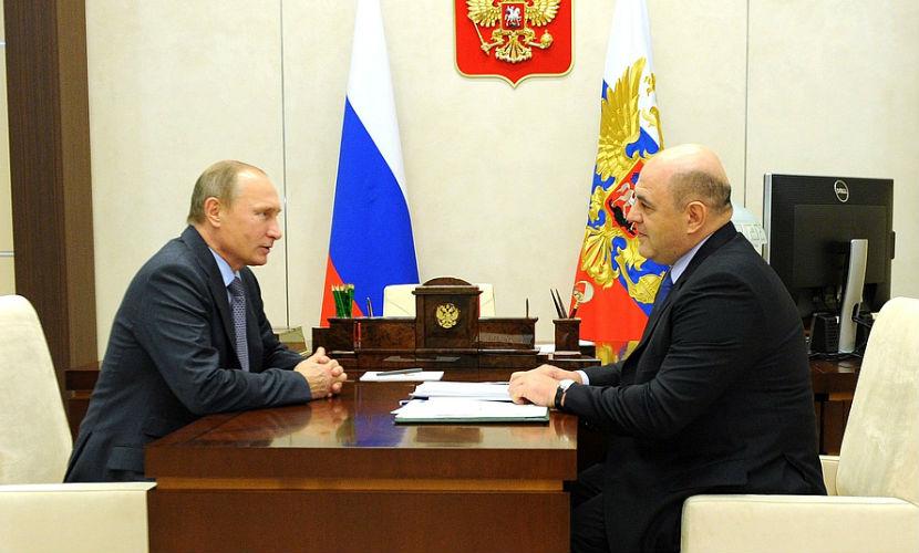 Путин предложил главному налоговику России стать премьером