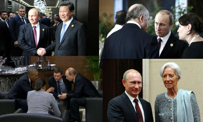 Шерпа РФ: Все рвутся пообщаться с Путиным на саммите G20