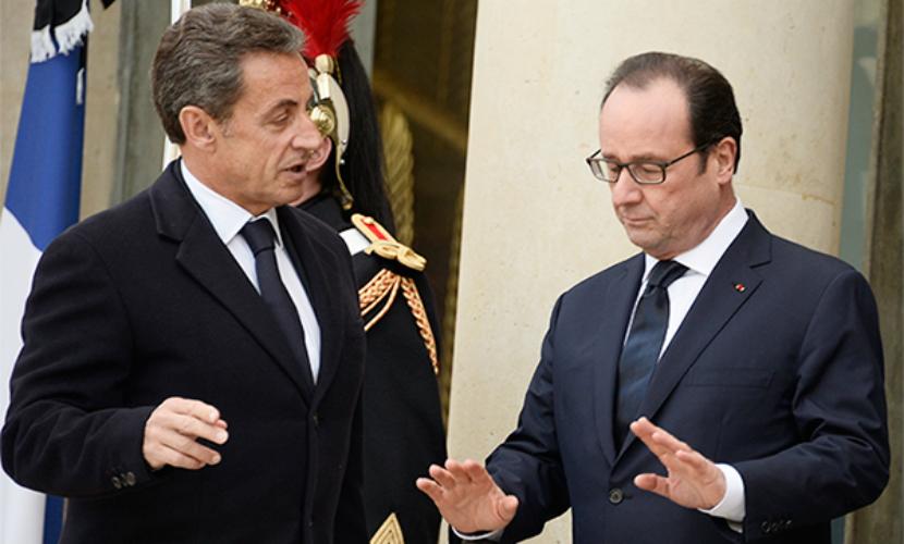 Саркози публично назвал Олланда демагогом из-за инцидента с