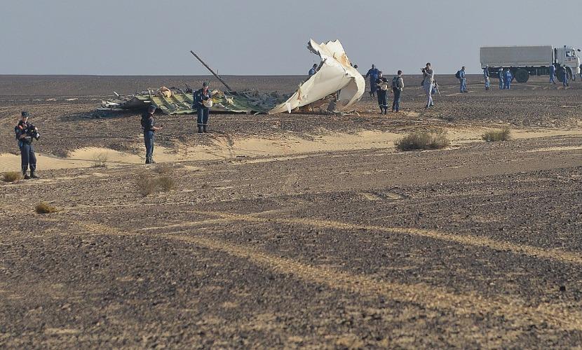 Бомба на борту А321 была сделана из пластита и имела часовой механизм, - СМИ