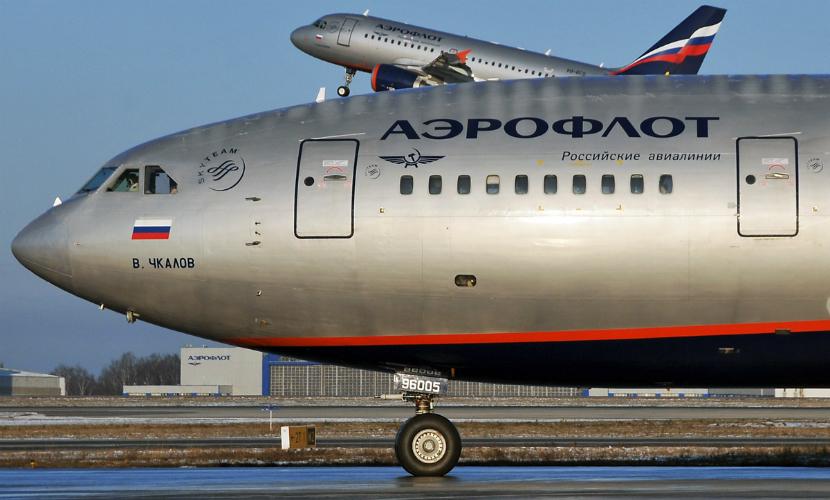Украина закрывает небо для всех русских самолетов...