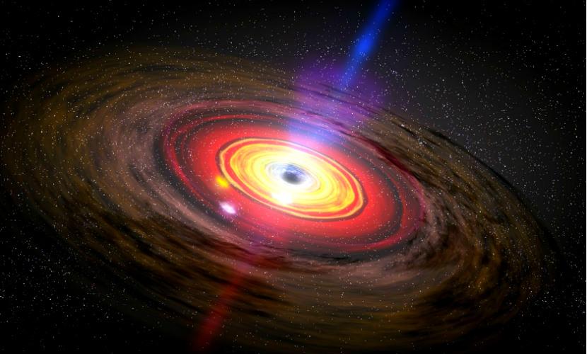 Черная дыра впервые попала на фото спутника Astrosat из Индии