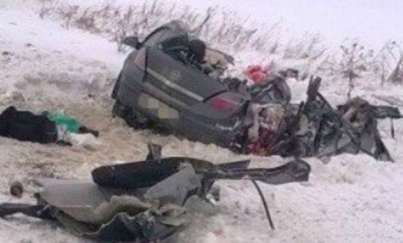 Четыре женщины погибли в ДТП с участием большегруза «Вольво» под Новосибирском