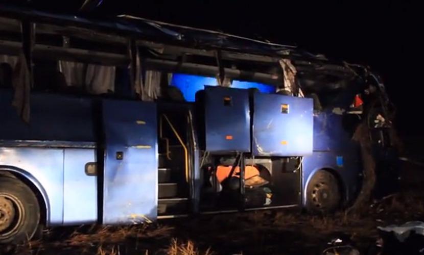 Минтранс ДНР решил проверить техническое состояние попавшего в ДТП под Воронежем автобуса