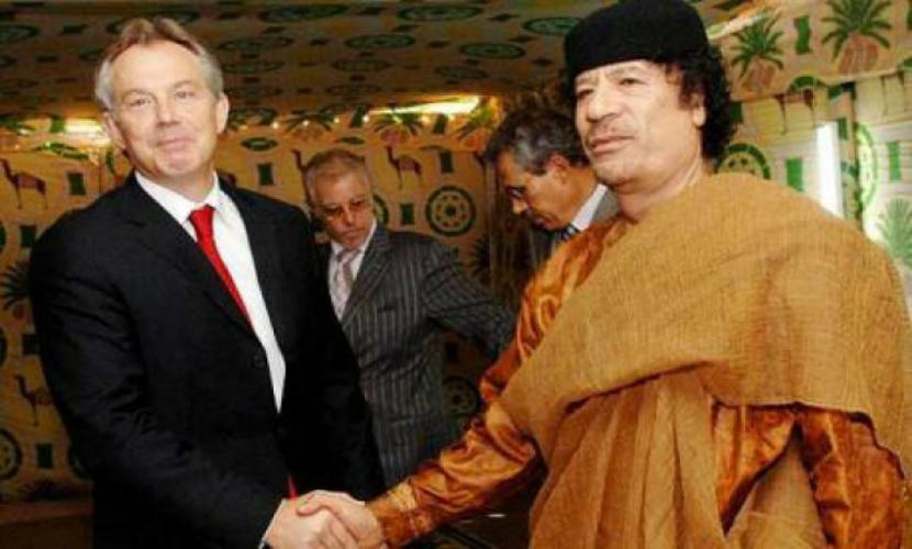 Тони Блэр пытался спасти Муаммара Каддафи от смерти