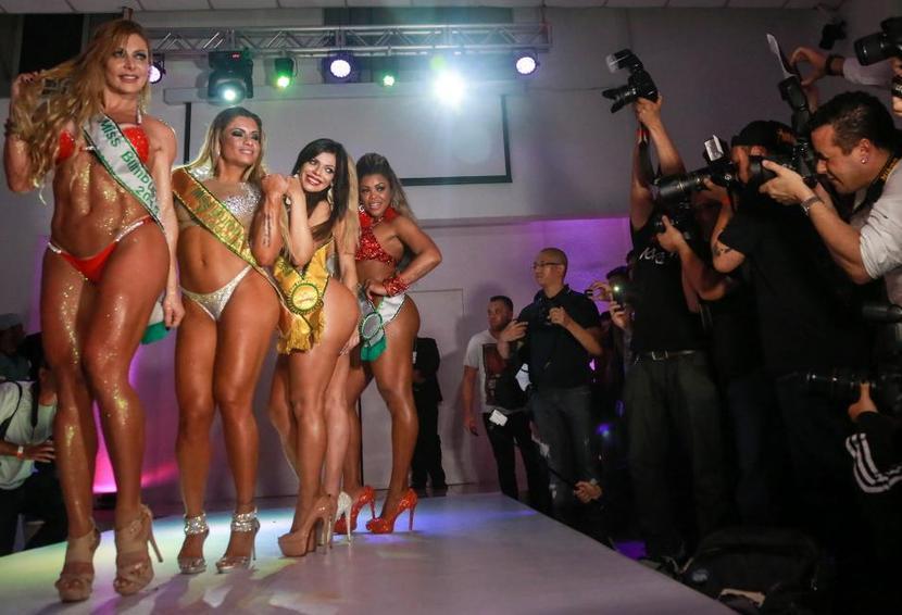 Конкурс на бразильскую попу