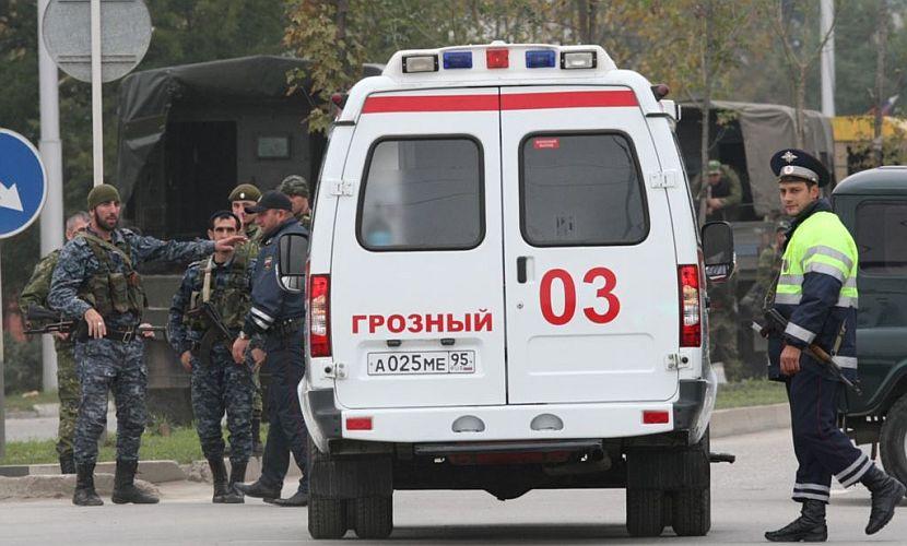 В Чечне жертвами ДТП на федеральной трассе