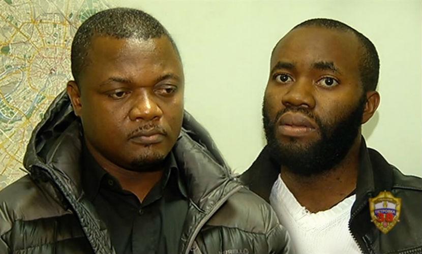 этом фото африканских мошенников получаются особые