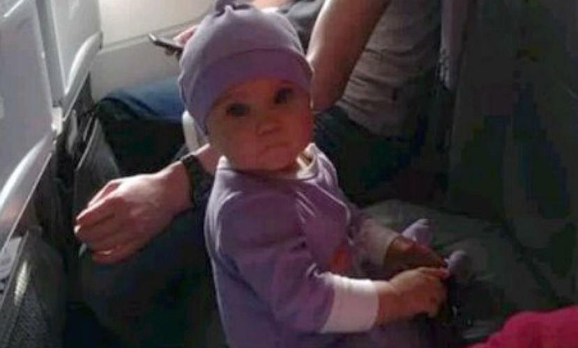 Фото девушки после крушения самолета