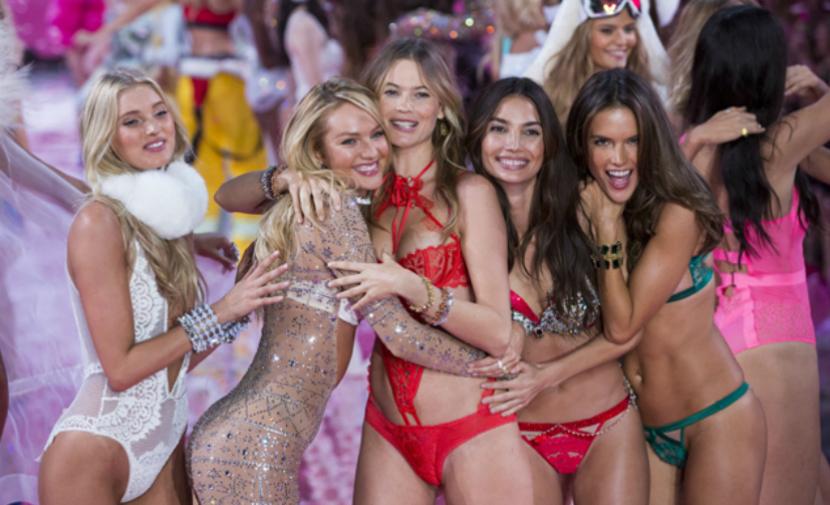 На показе нижнего белья в Нью-Йорке блеснули две дебютантки из России