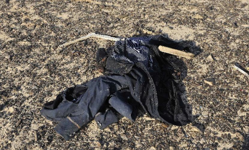 В восьми километрах от места крушения А321 спасатели нашли тело 3-летней девочки