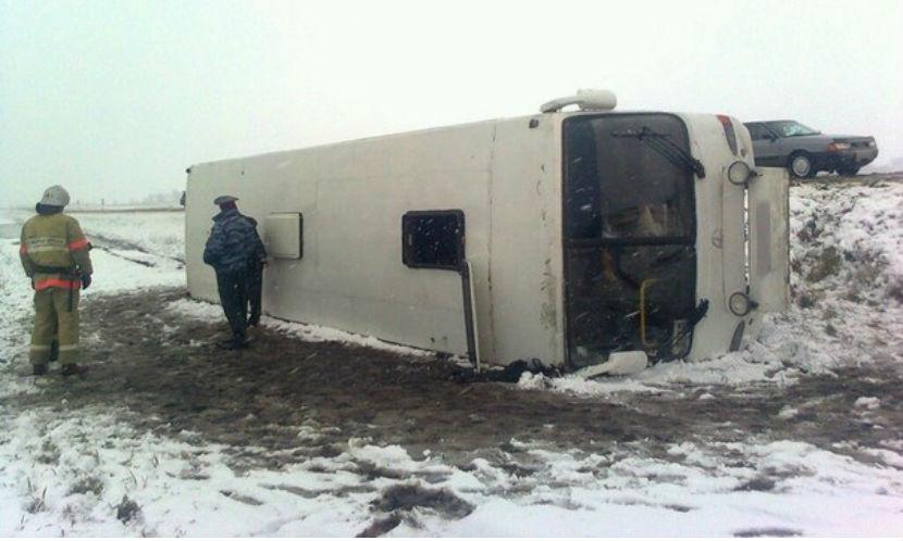 Шесть человек пострадали в ДТП с междугородним автобусом в Забайкалье