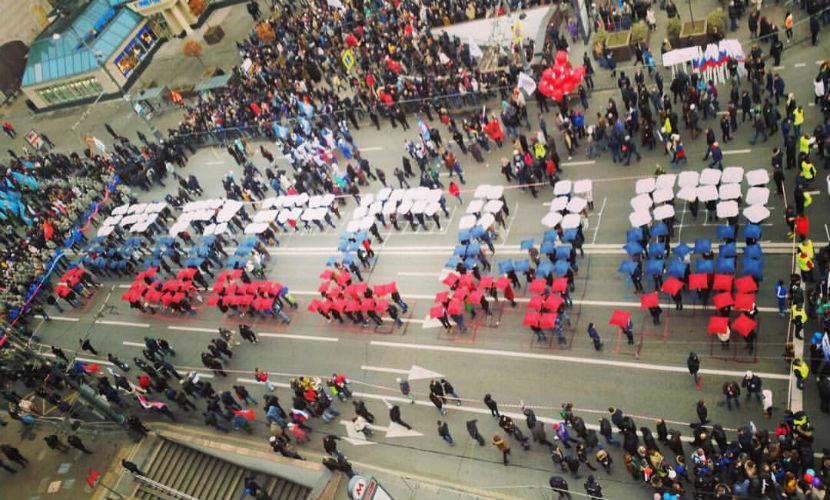 День единства в Москве отметили митингом и шествием националистов